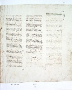 Vaticanus Mark 16